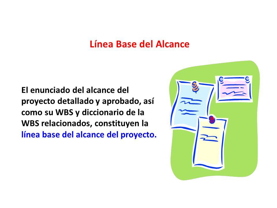 Línea Base del Alcance