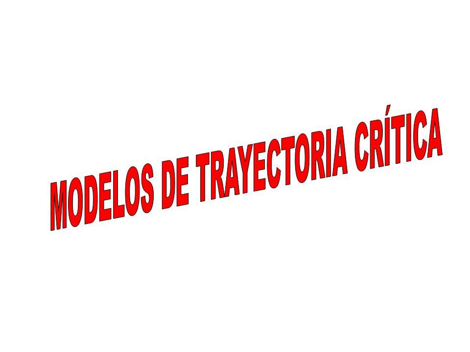 MODELOS DE TRAYECTORIA CRÍTICA
