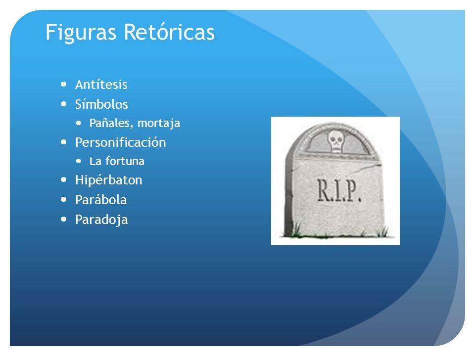 Figuras Retóricas Antítesis Símbolos Personificación Hipérbaton