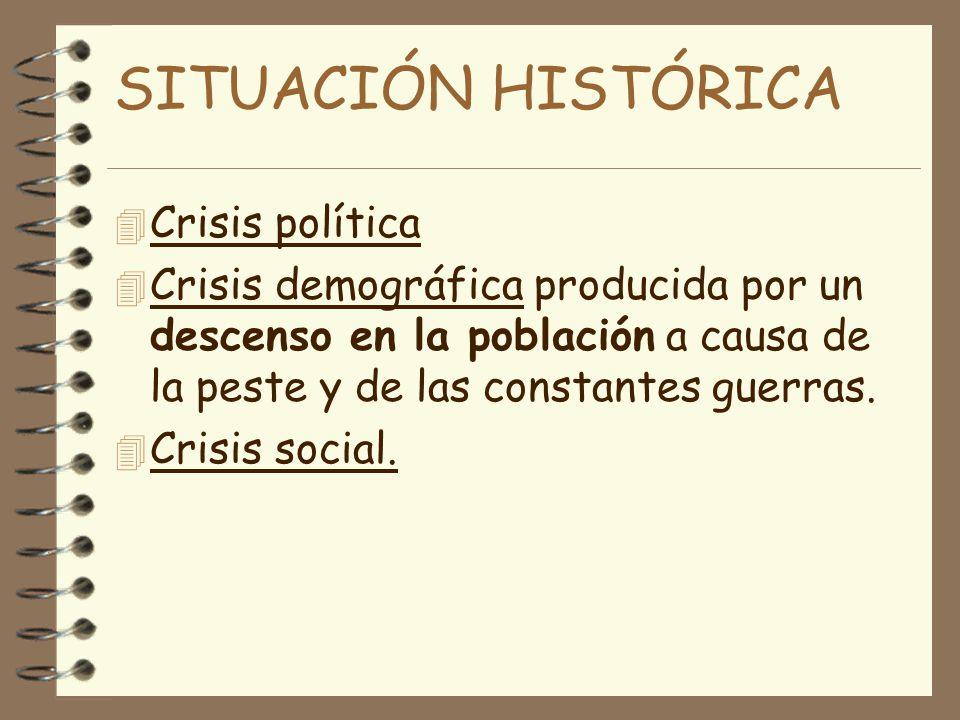 SITUACIÓN HISTÓRICA Crisis política