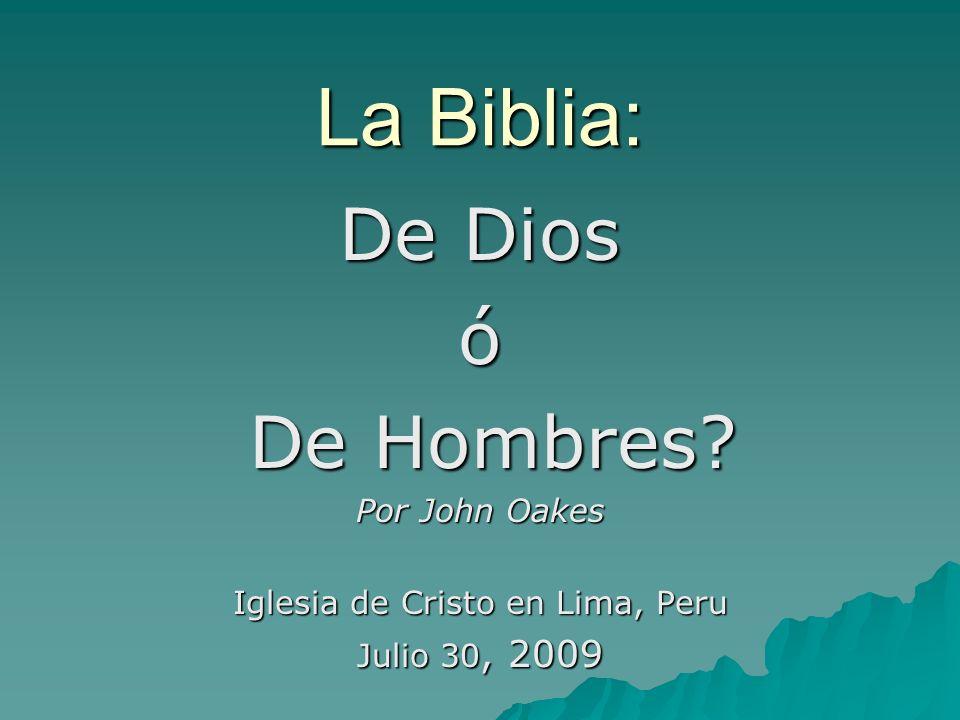 Iglesia de Cristo en Lima, Peru