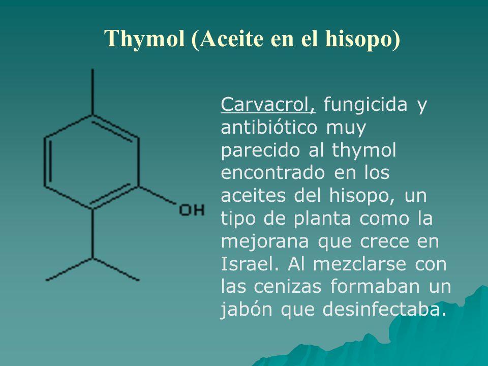 Thymol (Aceite en el hisopo)