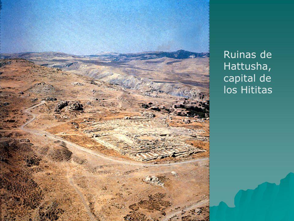 Ruinas de Hattusha, capital de los Hititas