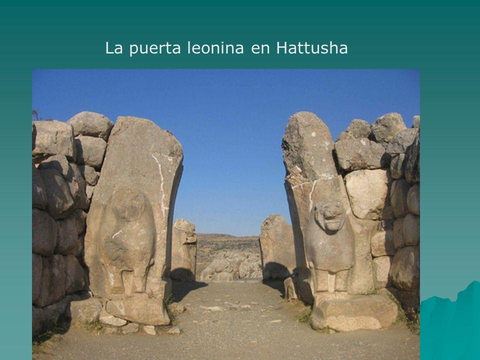 La puerta leonina en Hattusha