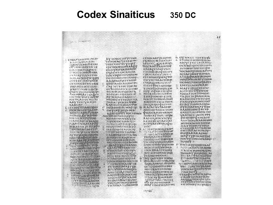 Codex Sinaiticus 350 DC
