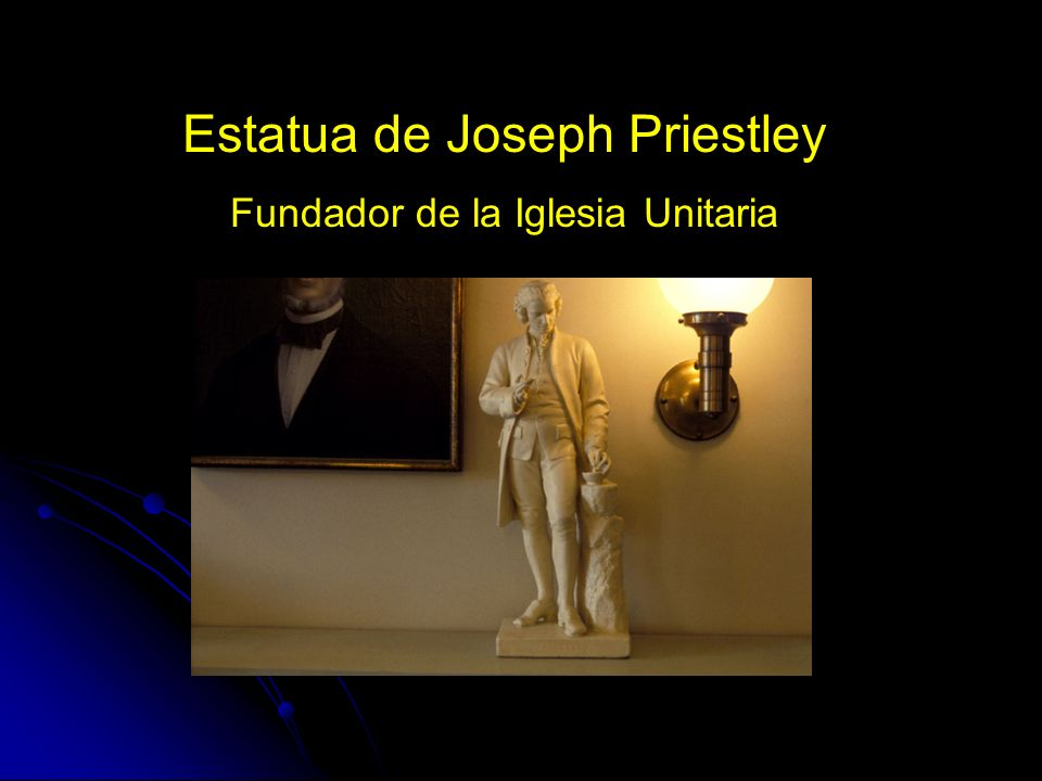Estatua de Joseph Priestley