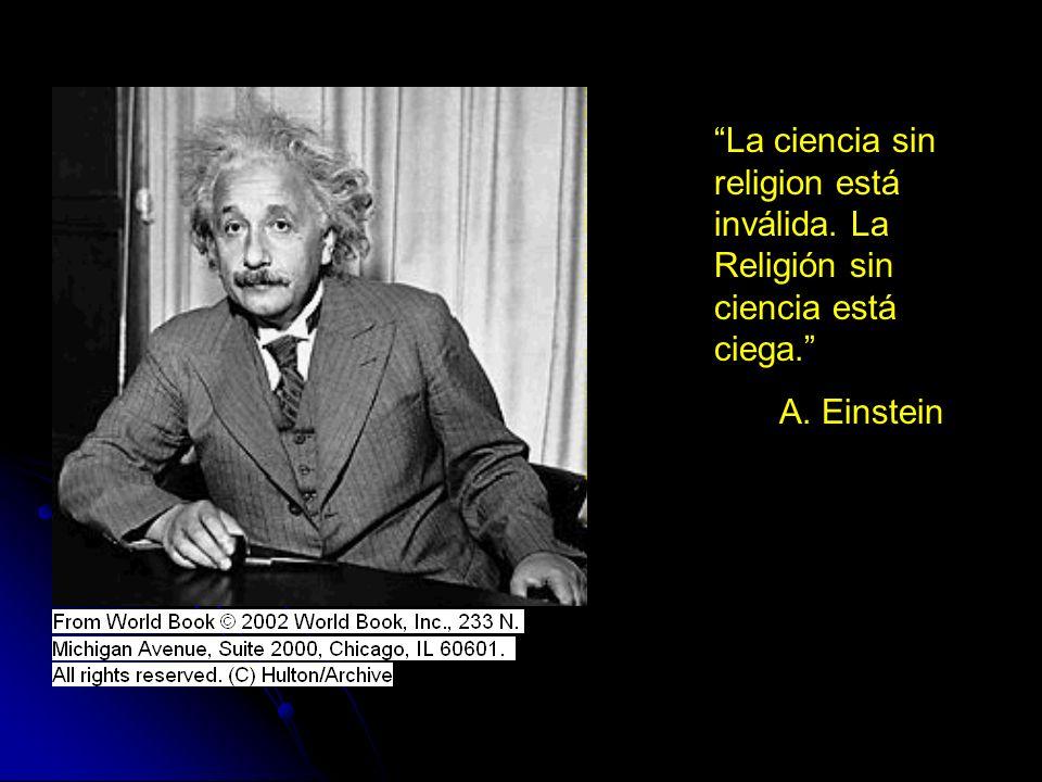 La ciencia sin religion está inválida
