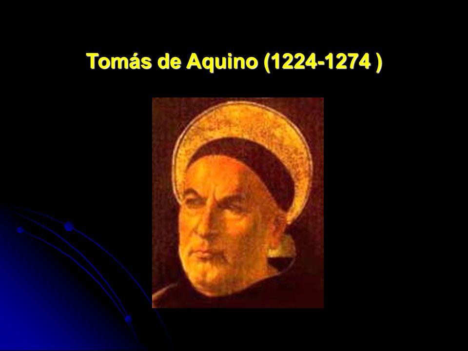 Tomás de Aquino (1224-1274 )