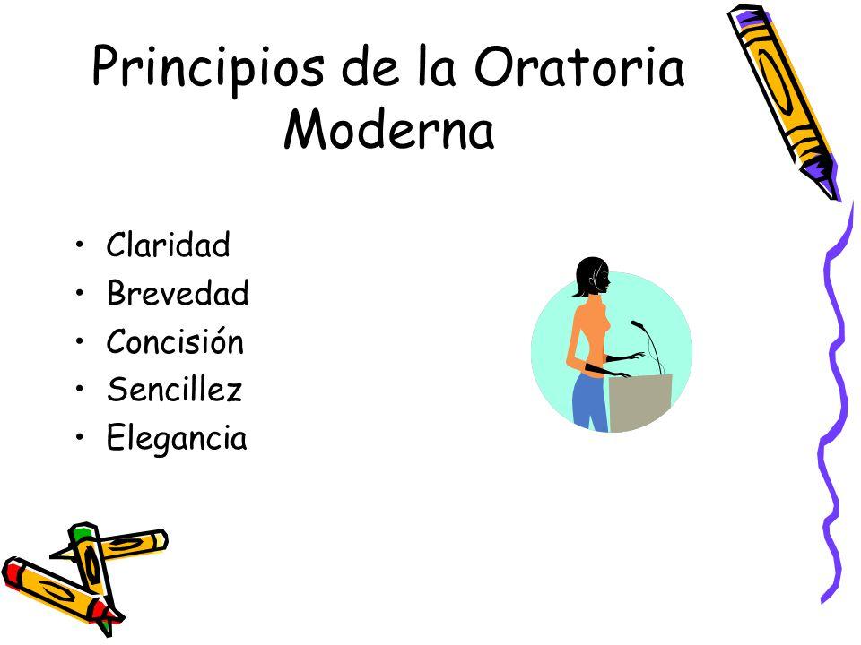 Principios de la Oratoria Moderna