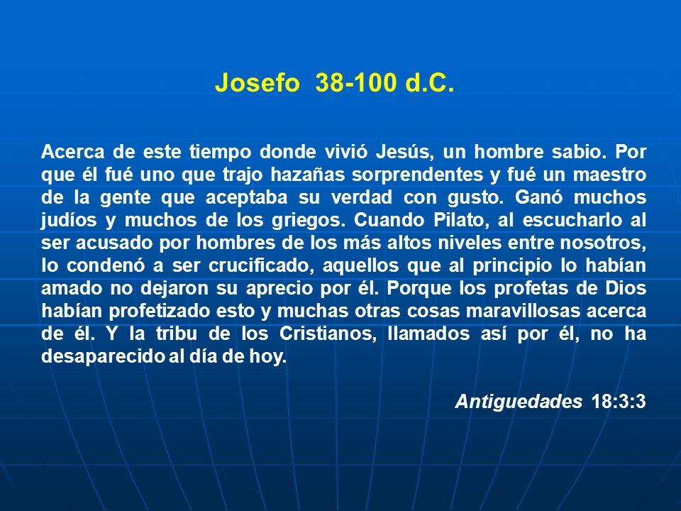 Josefo 38-100 d.C.