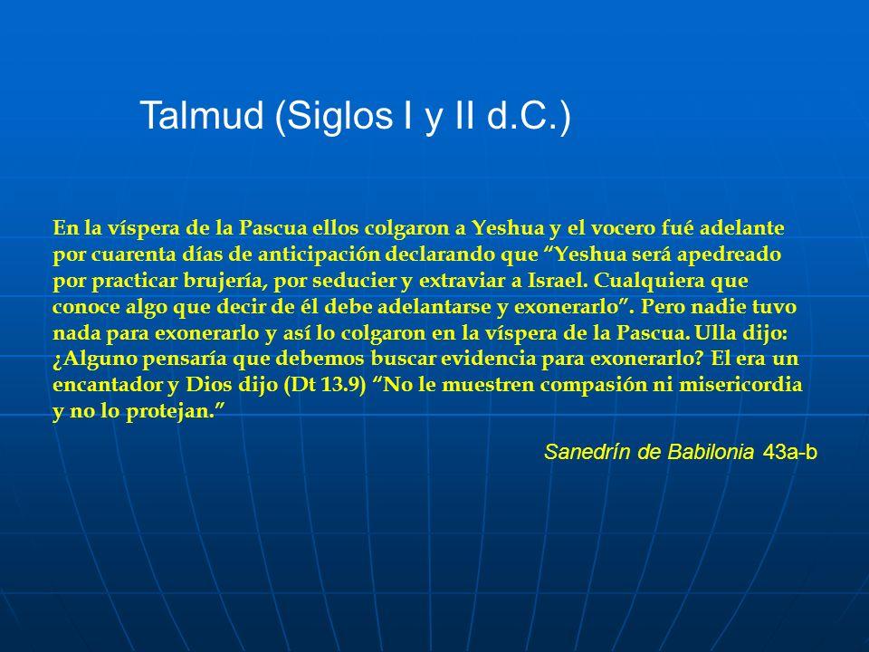 Talmud (Siglos I y II d.C.)