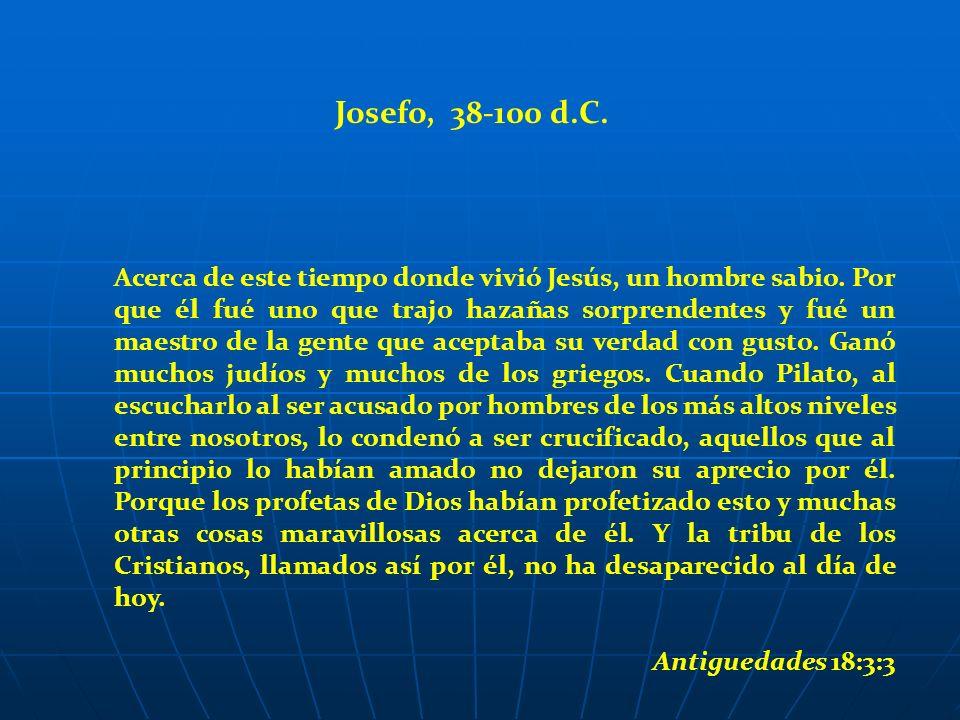 Josefo, 38-100 d.C.
