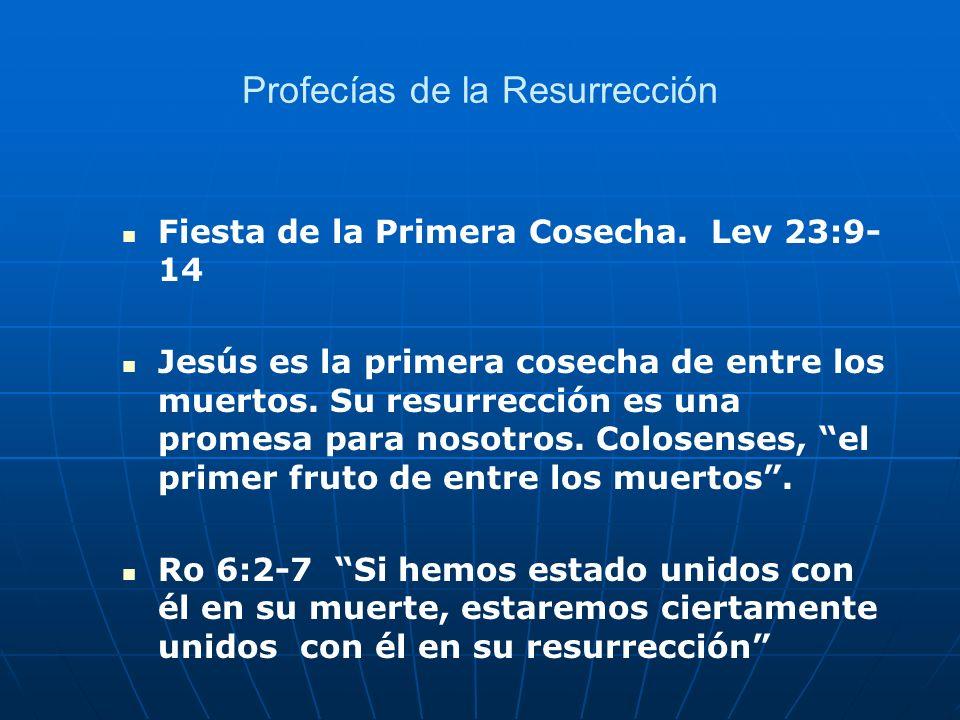 Profecías de la Resurrección