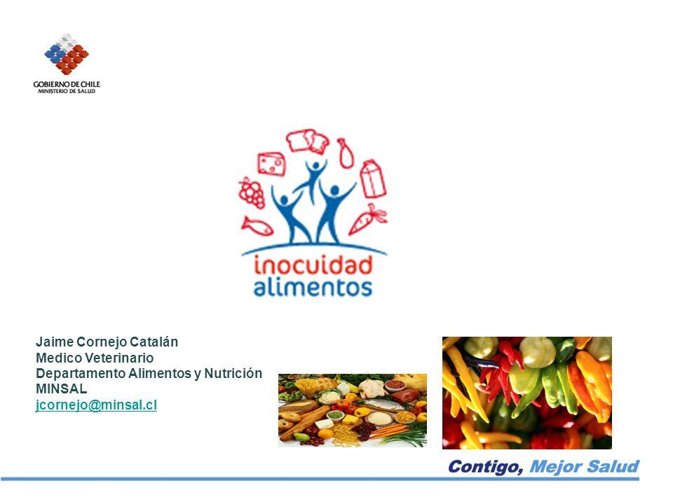 Jaime Cornejo Catalán Medico Veterinario. Departamento Alimentos y Nutrición.