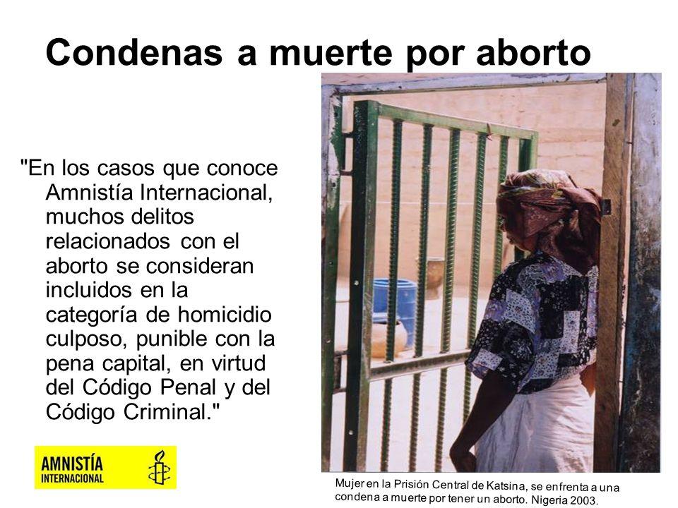 Condenas a muerte por aborto