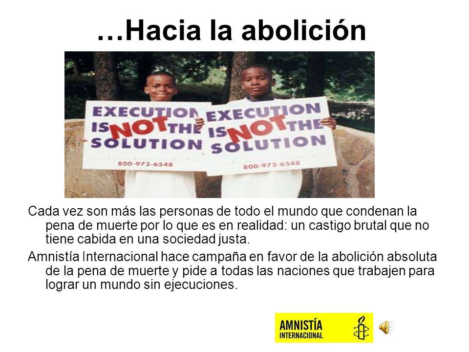 …Hacia la abolición