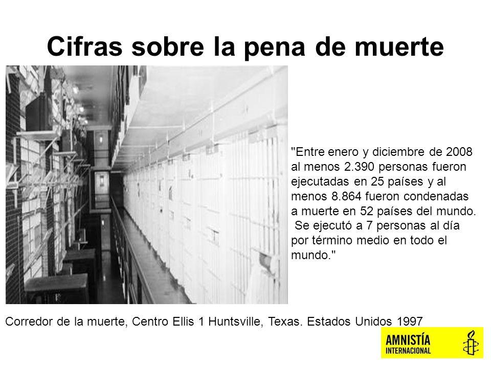 Cifras sobre la pena de muerte