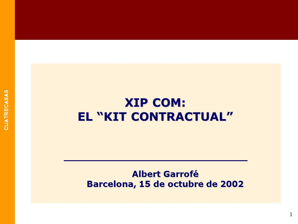 Barcelona, 15 de octubre de 2002