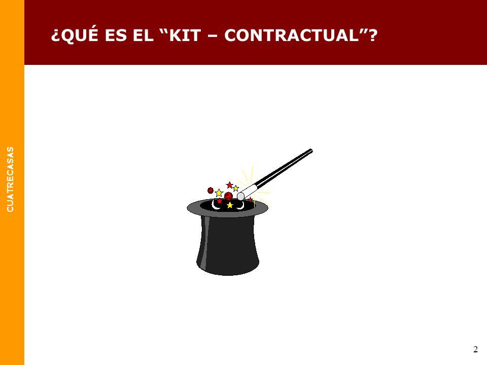 ¿QUÉ ES EL KIT – CONTRACTUAL