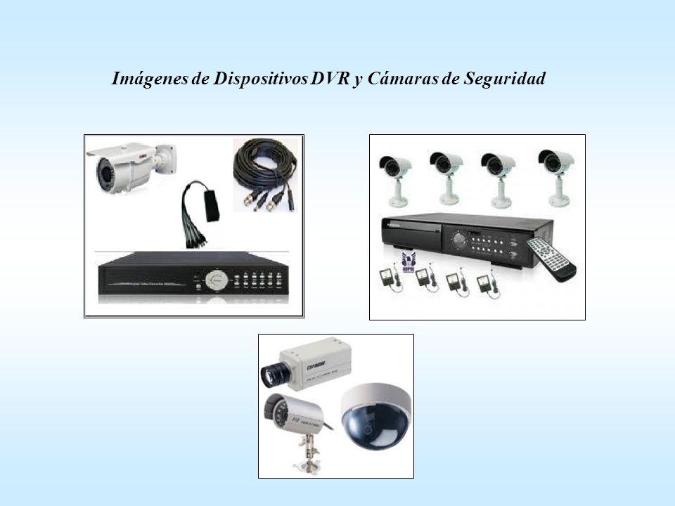 Imágenes de Dispositivos DVR y Cámaras de Seguridad