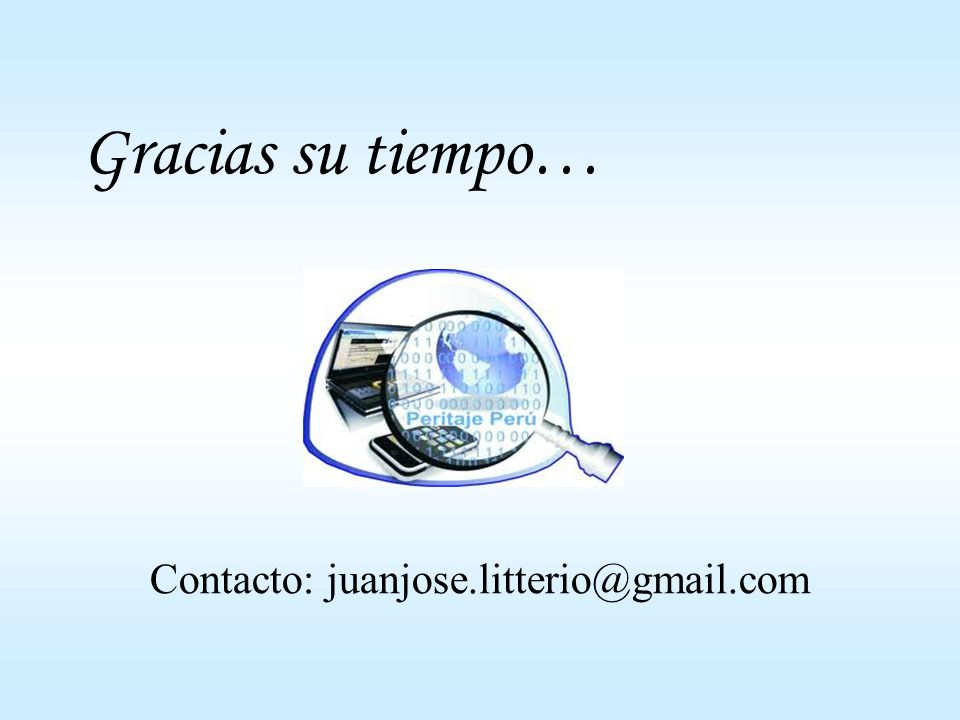 Contacto: juanjose.litterio@gmail.com
