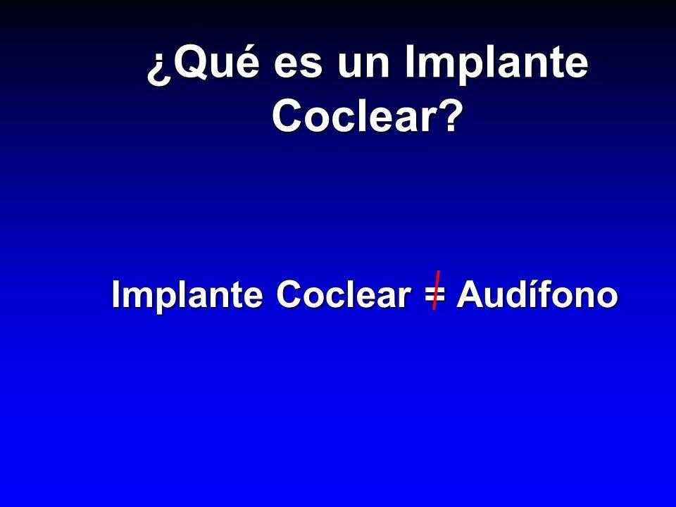 ¿Qué es un Implante Coclear