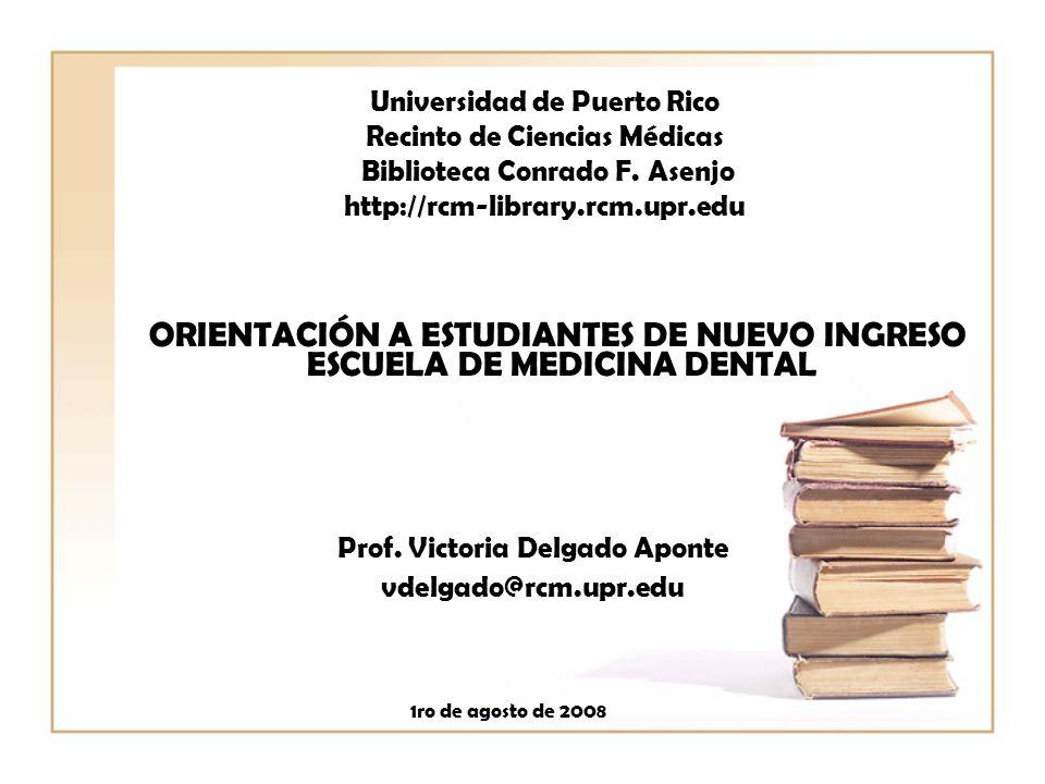 ORIENTACIÓN A ESTUDIANTES DE NUEVO INGRESO ESCUELA DE MEDICINA DENTAL