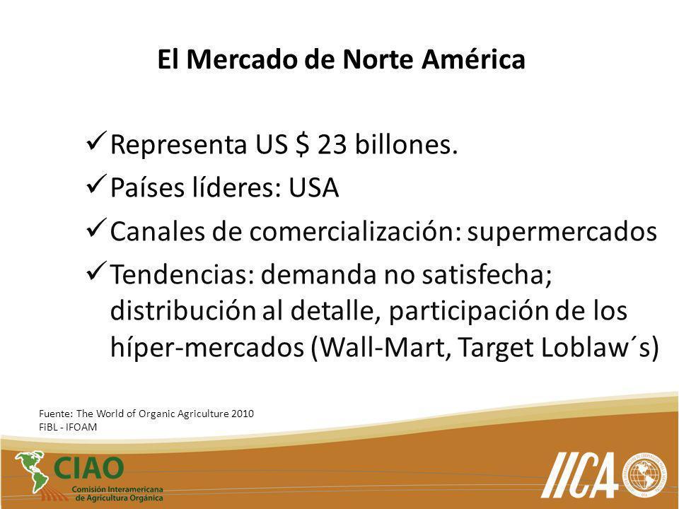 El Mercado de Norte América