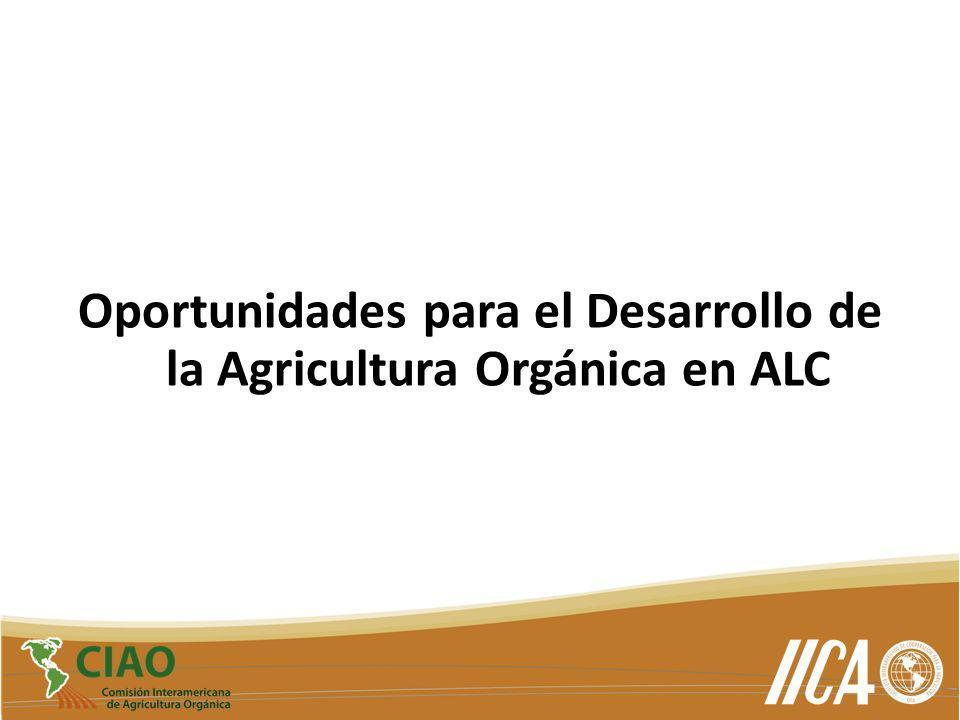 Oportunidades para el Desarrollo de la Agricultura Orgánica en ALC