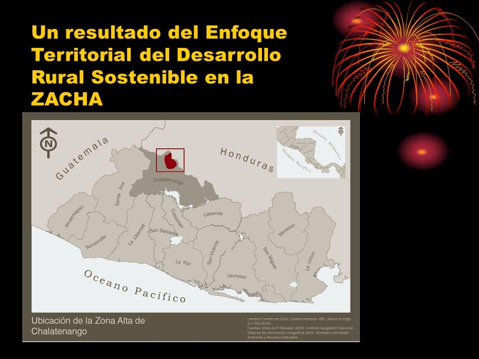 Un resultado del Enfoque Territorial del Desarrollo Rural Sostenible en la ZACHA