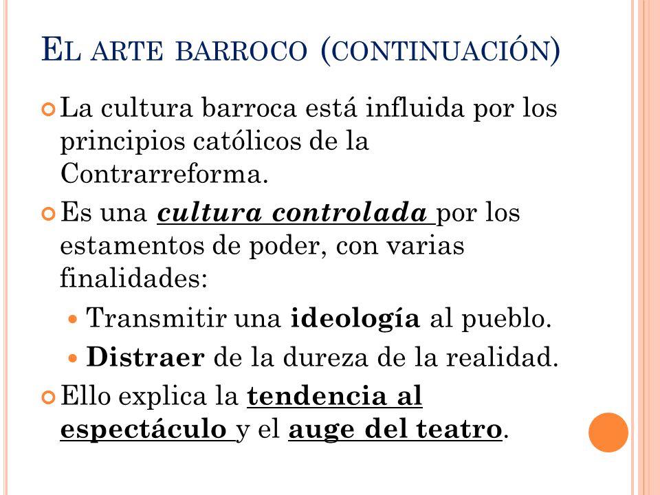 El arte barroco (continuación)
