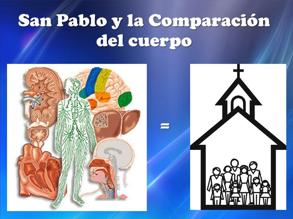 San Pablo y la Comparación del cuerpo