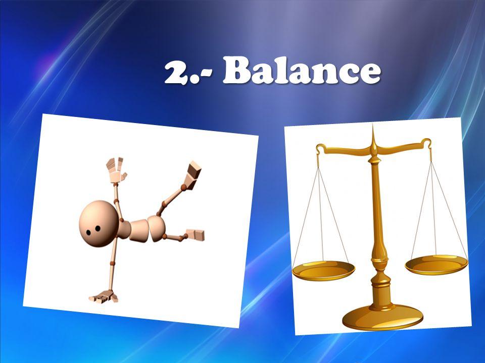 2.- Balance