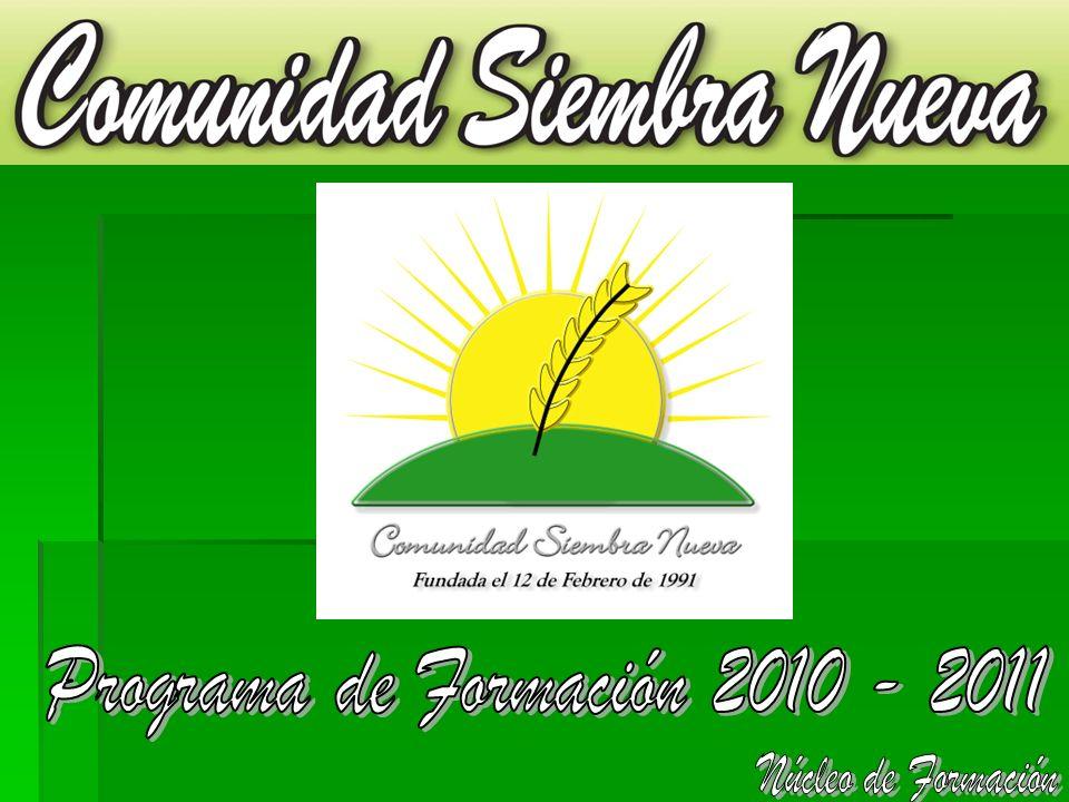 Programa de Formación 2010 - 2011