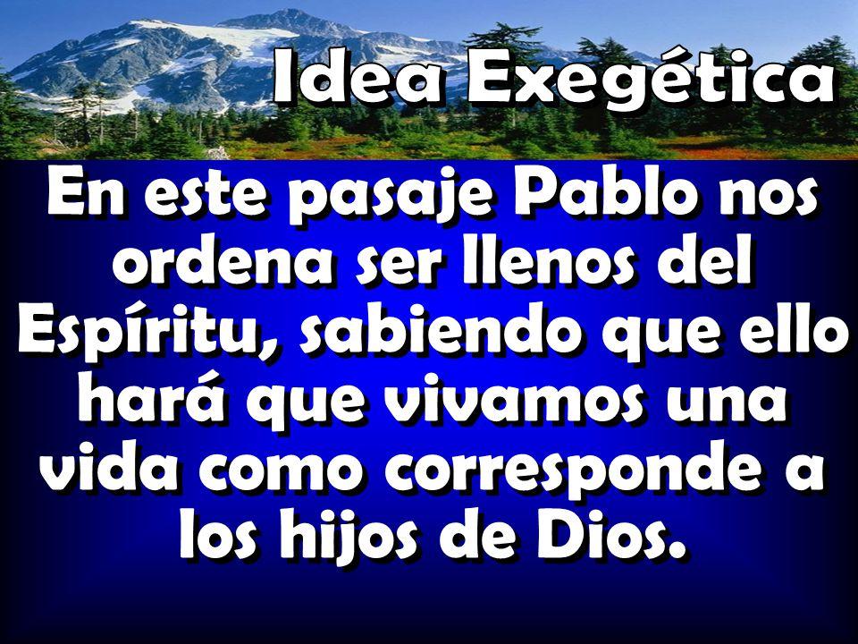 Idea Exegética