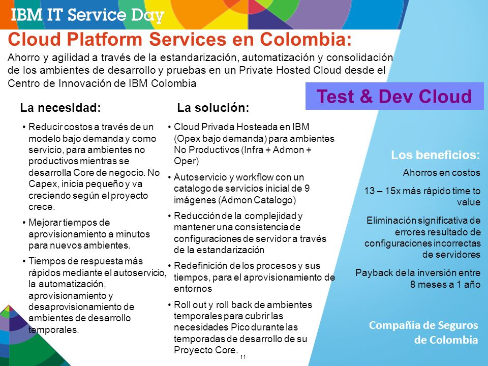 Cloud Platform Services en Colombia:
