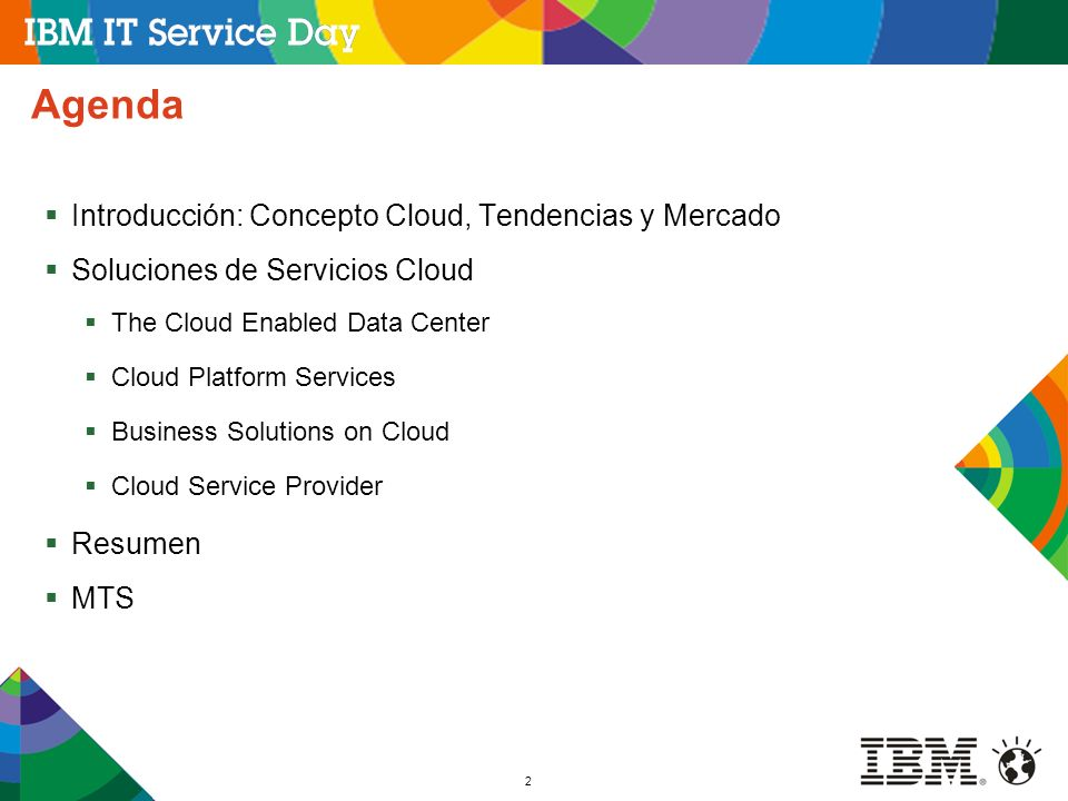 Agenda Introducción: Concepto Cloud, Tendencias y Mercado