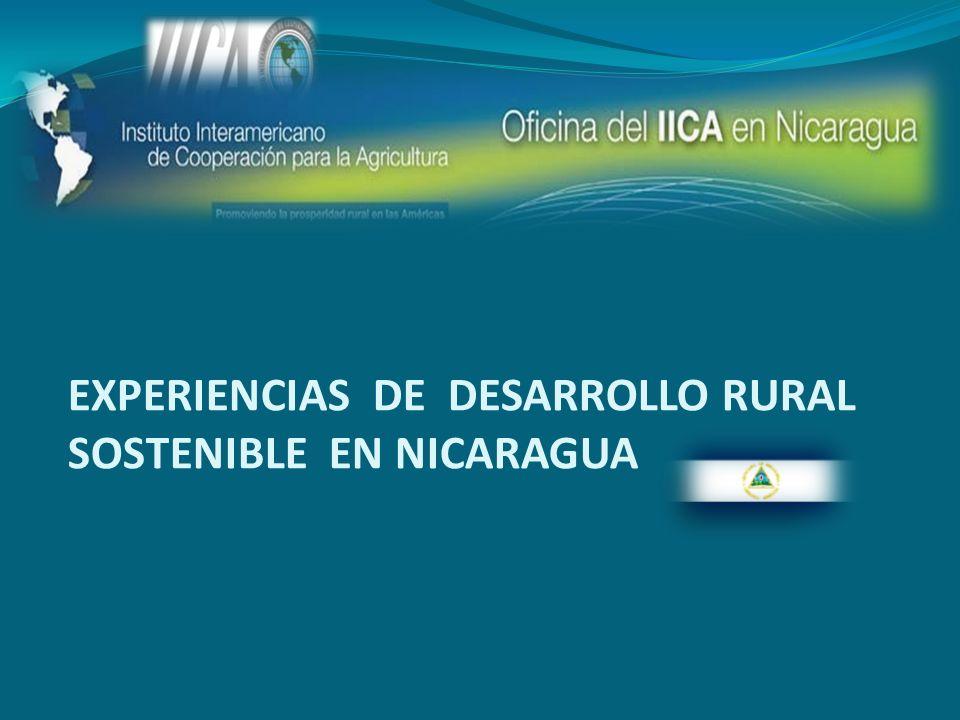 EXPERIENCIAS DE DESARROLLO RURAL SOSTENIBLE EN NICARAGUA