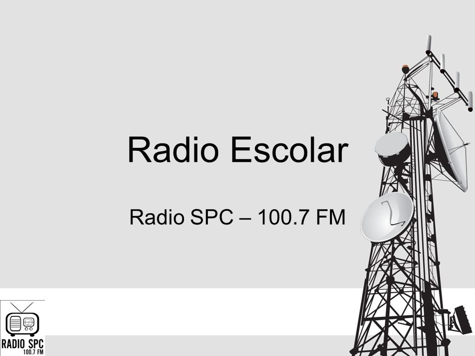 Radio Escolar Radio SPC – 100.7 FM
