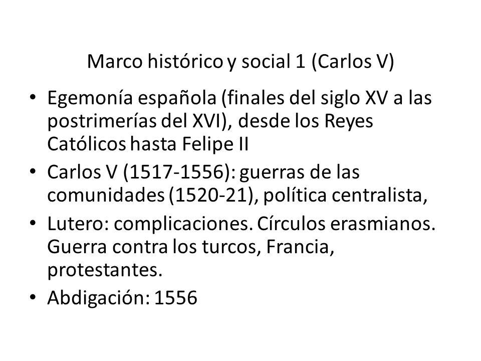 Marco histórico y social 1 (Carlos V)