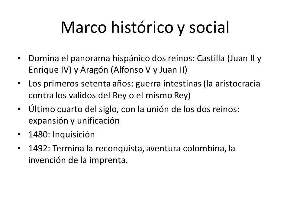 Marco histórico y social