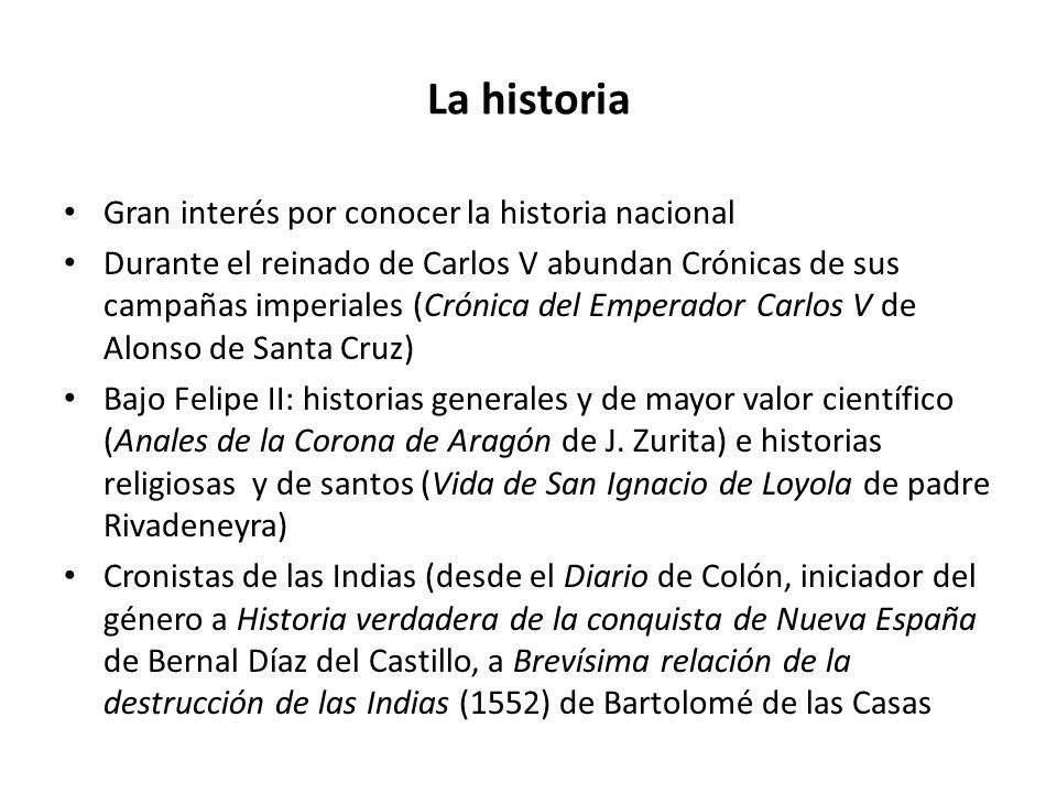 La historia Gran interés por conocer la historia nacional