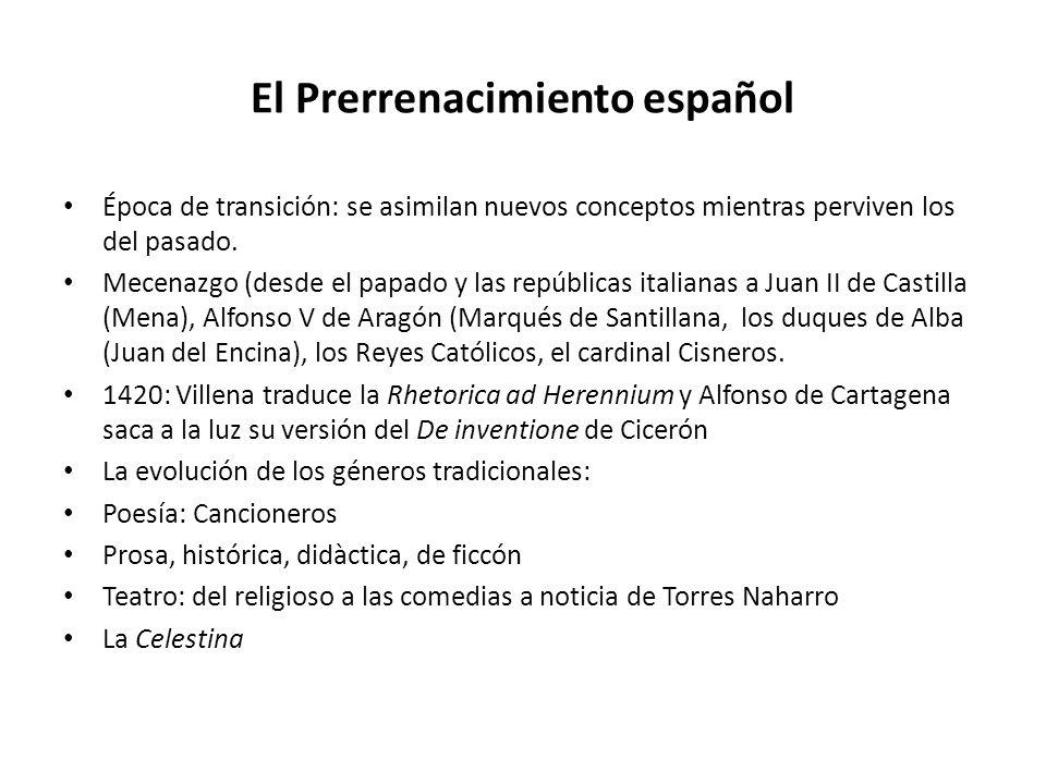 El Prerrenacimiento español