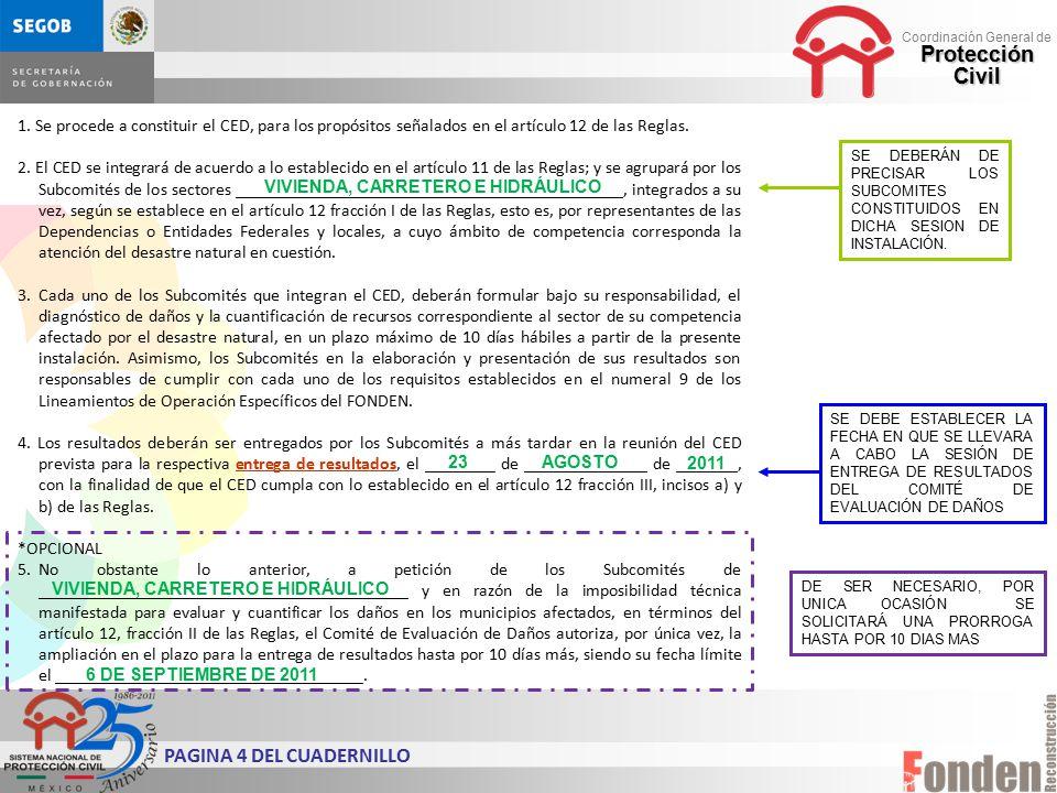 PAGINA 4 DEL CUADERNILLO