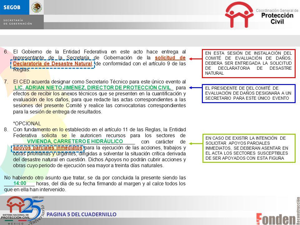 PAGINA 5 DEL CUADERNILLO