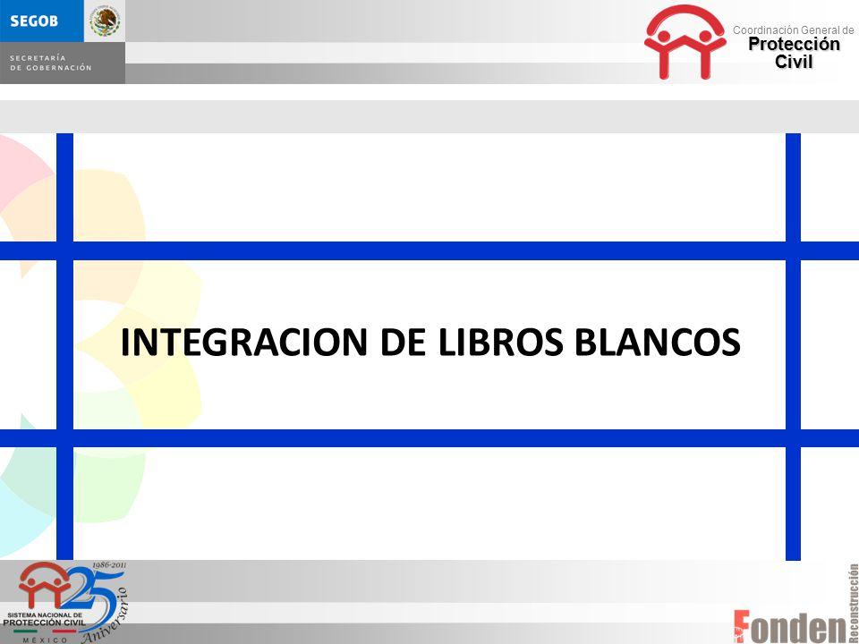 INTEGRACION DE LIBROS BLANCOS