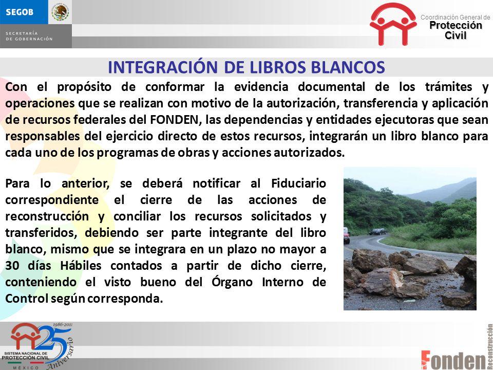 INTEGRACIÓN DE LIBROS BLANCOS