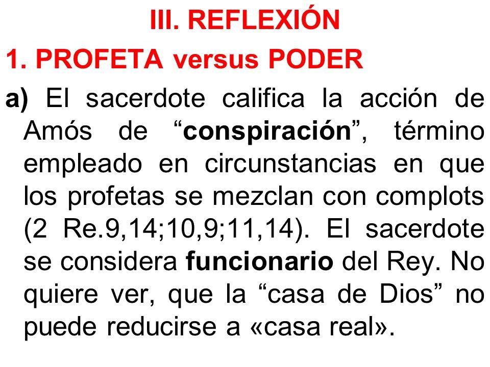 III. REFLEXIÓN 1.