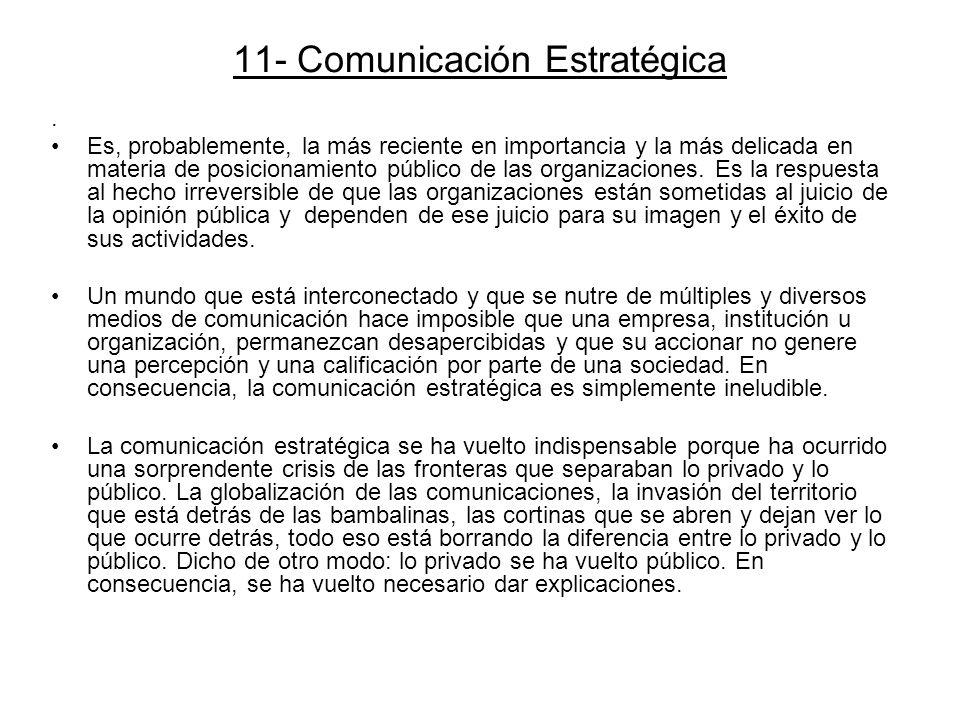 11- Comunicación Estratégica