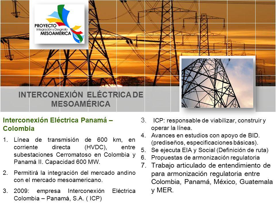 INTERCONEXIÓN ELÉCTRICA DE MESOAMÉRICA